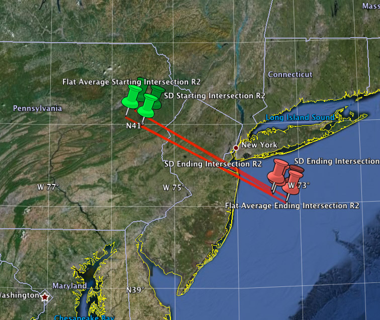 Trajectory For March 22, 2013 Fireball Event