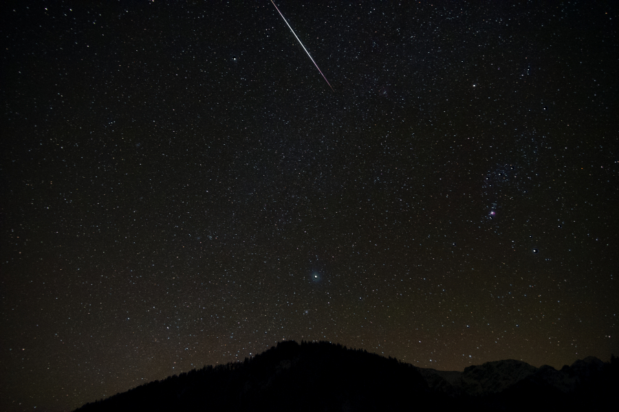 Meteor Activity Outlook for January 5-11, 2019 - American